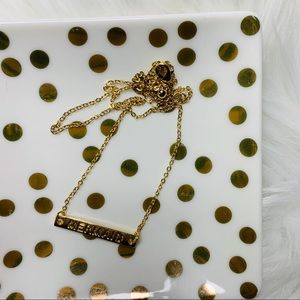 """Boutique Jewelry - NEW """"Mermaid"""" dainty gold tone necklace"""